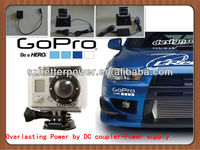 For GoPro Battery Eliminator working with Gopro hero3 and Hero3+