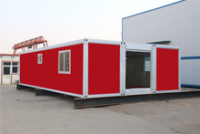 quality Australian ablution unit foldable shipping container cabin