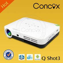 Q Shot3 Mirroring connection with Tablet/laptop/phone for galaxy s3 mini projector