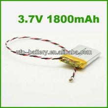 Li-Polymer 3.7V 1800mAh Lithium-ion Battery,Li-polymer Battery, Rechargeable Battery