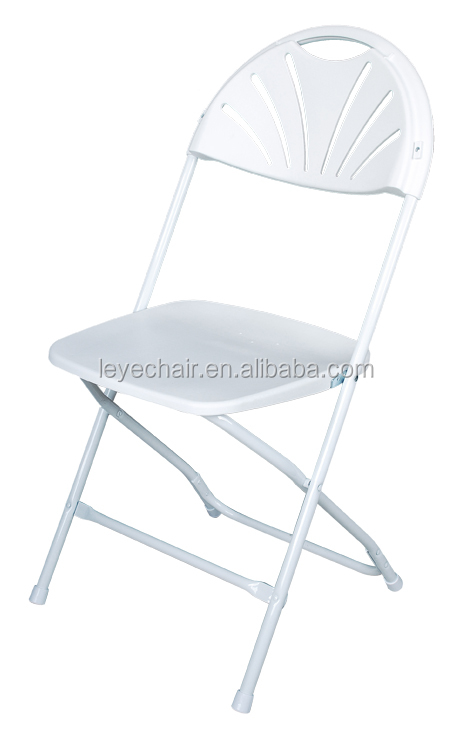 Factory Direct Plastic Resin Folding Chairs Wholesale Wedding Chair Foldable