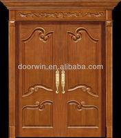 China supplier wood front door interior