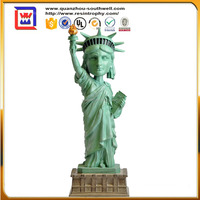 hand made antique Goddess Liberty and resin Goddess of liberty and polyresin statues of liberty