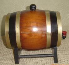 Decorativa vinho de madeira de pinho barris para venda