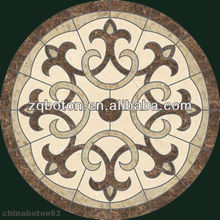 Fine Decorated Marble Mosaic Pattern Round