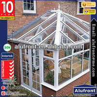 Africa Style Aluminium Glass Garden House made in China with AS standard
