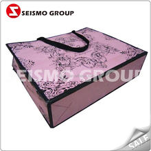 colorful paper bags printing foldable shopping paper bag