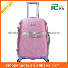Hot sale fashion design PC+ABS luggage/hardcase