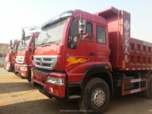2014 HOWO dumpers caminhões para venda máquina de construção 6 * 4 caminhão pesado