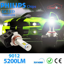 Qeedon excellent customer service 12 volt h4 led headlight bulbs 45Watt 3600lumen h13 bulub car working lights