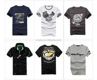2015 High quality blank mens extra long softex t-shirts