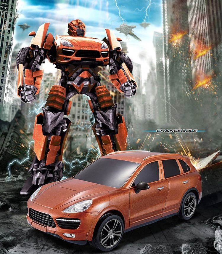 043664-2.4G Radio Control Deformation Robot - Car Simulation Model-2.jpg