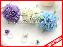 artificial wedding flower hanging balls for cars