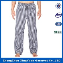New hot sale breathable 100% polyester pants,Patterned pyjama casual pants for sleep wear