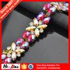 Cheap price china team Color brilliancy rhinestone chain for wedding decoration