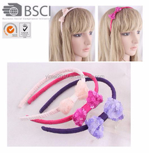 Hot sale Party Christmas Big Bow headband hair accessory for girl kids
