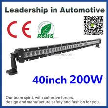 Factory direct Car Accessory 5w single row led super slim led light bar 44 42 40inch 200w
