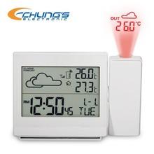 Laser LED backlight projection alarm clock