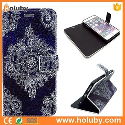 Wallet Style Flip Stand PU Leather Case for iPhone 6 Plus ,Card Holder Case for iPhone 6 Plus