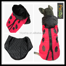 winter zipper Pet Dog Coat for large pets and dogs