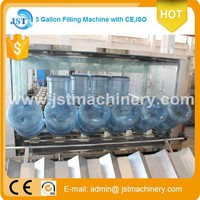 Automatic still water 5 gallan filling line price