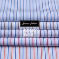 70s 100% de algodão da listra de tecido para o vestido de camisa&