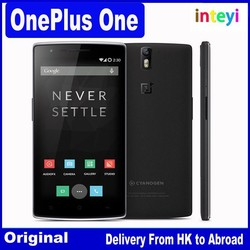 Original Oneplus One 64GB One plus one 4G FDD LTE Mobile Phone Snapdragon801 Quad Core 5.5'' FHD NFC 3GB RAM NFC