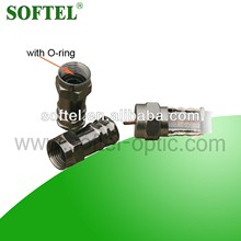 SF034 crimp RF connectorwith O-ring,crimp RF connector/PVC Coat RF connector,electrical connectors types/magnetic connector