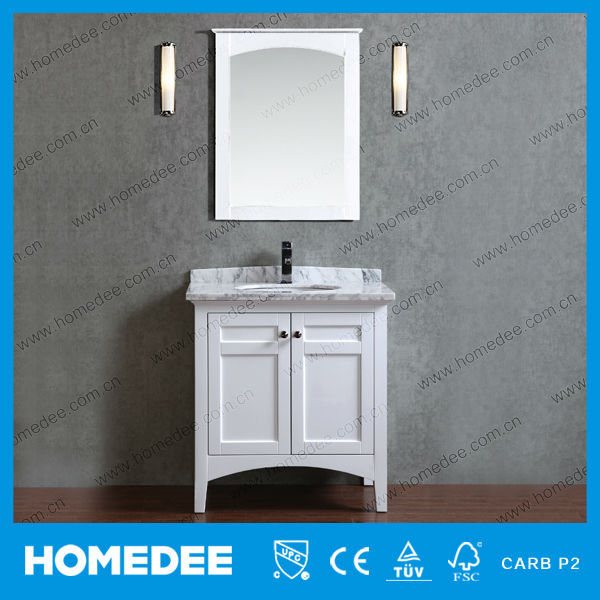 Wholesale Factory Direct Wood Small Bathroom Vanity
