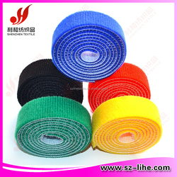 hook and loop in one tape, double sided hook and loop tape, back to back hook&loop tape
