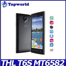 China Brand THL T6S 5.0inch Android 4.4 MTK6582 1GB RAM 8GB ROM android phone