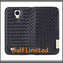 Hot selling Rock Weaver Series Flip Leather Case Cover For Samsung Galaxy S4