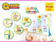 Niniya électrique bébé mobile personnalisé, Lit bébé mobile musical jouets gros