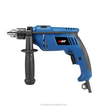 Cheap 13mm impact drill 750w with plactic box power tool motor