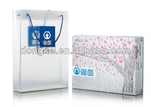 printed plastic shopping bags with handles shenzhen