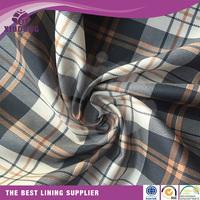 China supplier polyester tartan printing cheap lining fabric polyester tartan printed lining,tartan taffeta lining for jacket
