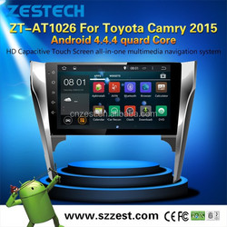 GPS WiFi Phone OBDII car dvd player gps for toyota camry support Android4.4.4 up to 5.1 1.6GHZz MCU 4 core support all APP
