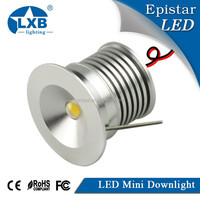 2015 hotselling COB LED Downlight 3w recessed mini led downlight