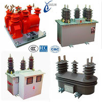 12kv With residual voltage winding Combination Instrument high voltage current transformer for metering