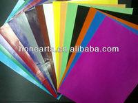 colored wax flint paper