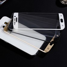 Ultra Clear 0.2mm 2.5D 9H Full Cover Curved Screen Tempered glass screen protective film for Samsung Galaxy S6 edge