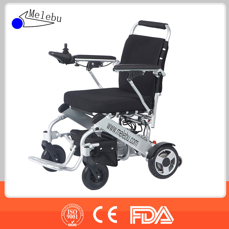 Electric power wheelchair lightweight folding ez lite Portable motorized wheelchair