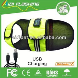 waterproof LED luminous safety in the dark pvc coated dog cages