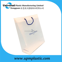 Plastic Rope Carrier Bag with printing