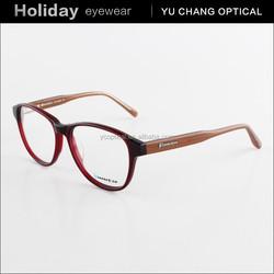China fashion wholesale acetate optical eyeglasses frame spectacle frame