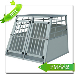 Big stainless steel dog cage indoor dog kennel