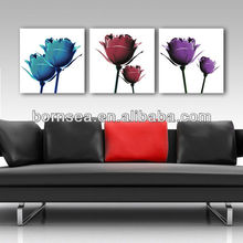 chinese calligraphy brush customized group canvas printing wall art painting