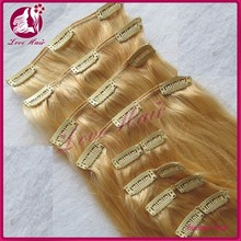 6A Grad Very Popular Malaysian virgin hair products 100 unprocessed Clip in hair extension