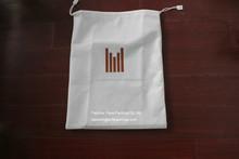 drawstring sealing non woven material promotional shopping bag, reusable shopping bag