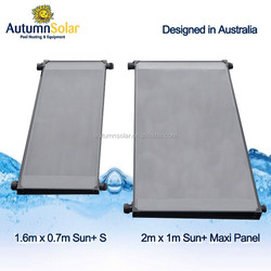 black polyethylene Solar Pool Heating Collectors saving pool heating cost